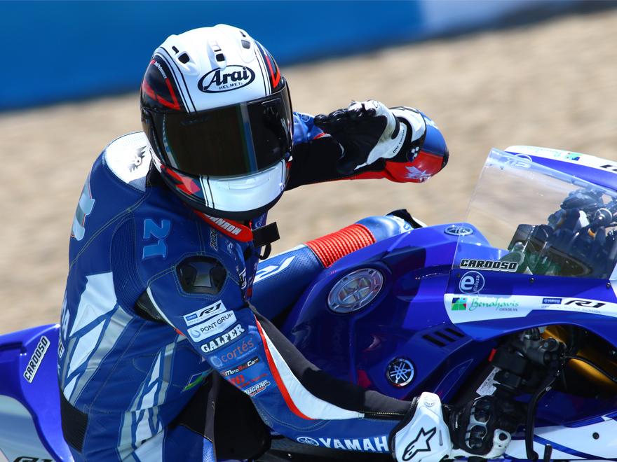 Ivan-Moreno-IM21-Cardoso-School-Circuito-Jerez-Yamaha-Saludo