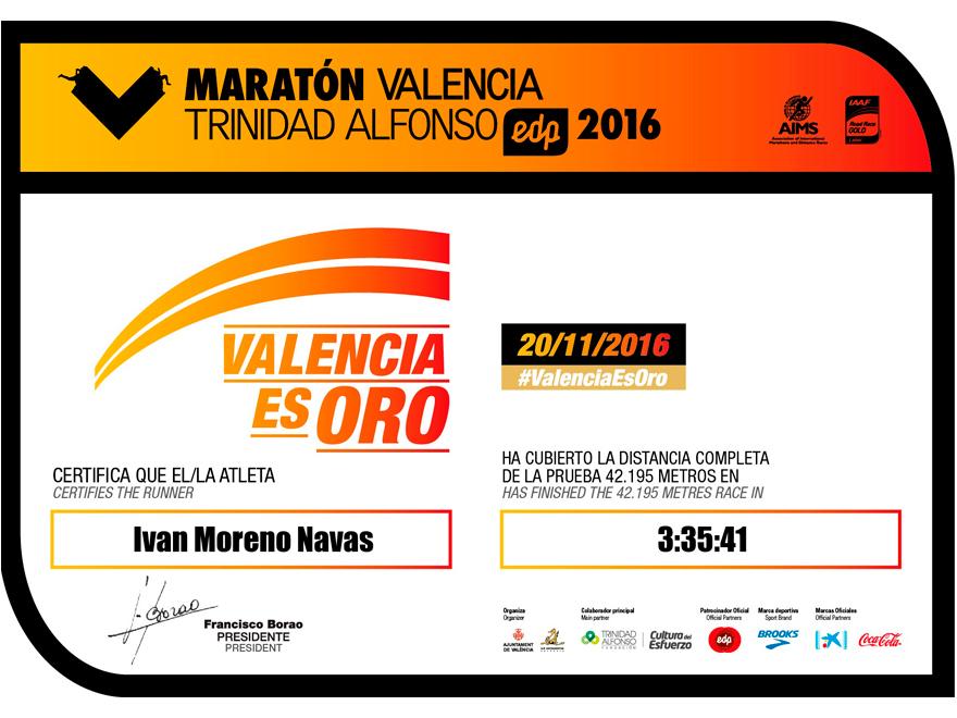 blog-ivan-moreno-maraton-valencia-gold-run-medalla-diploma-tiempo