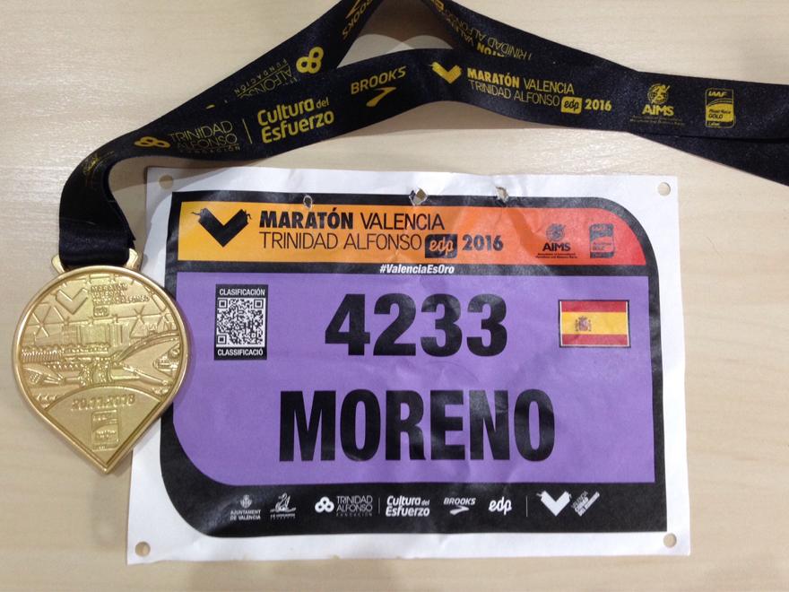 blog-ivan-moreno-maraton-valencia-gold-run-medalla-medalla-y-dorsal
